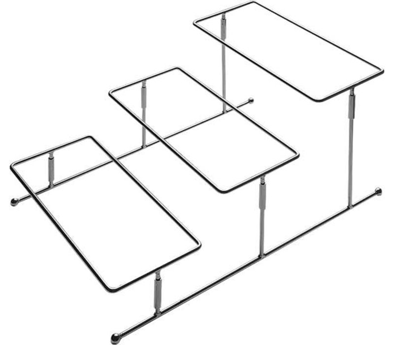 APS FSE Buffet Frame Pure | Verchroomd Metaal | 45,5x32x(H)21,5cm