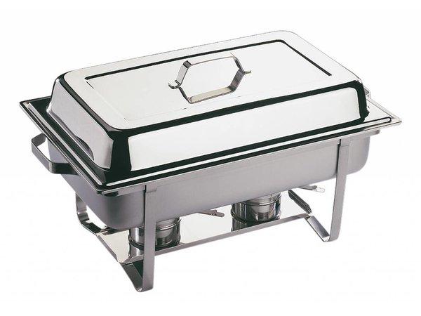 APS FSE Chafing Dish Economic Twin | RVS | 610x360x(H)300mm