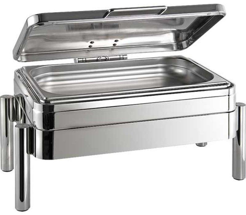 APS FSE Chafing Dish | GN 1/1 | Premium | RVS | 9 Liter | 660x480x(H)330mm