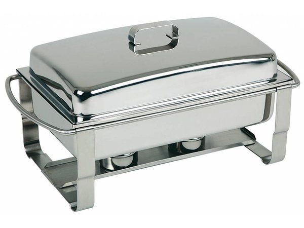 APS FSE Chafing Dish Caterer | RVS | 9 Liter | 670x350x(H)350mm