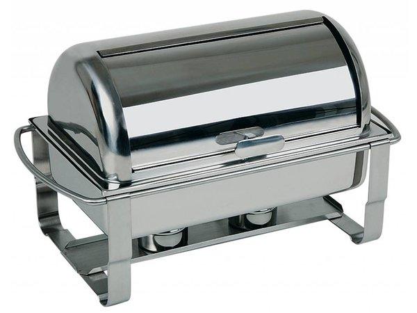 APS FSE Chafing Dish Caterer   RVS   9 Liter   670x350x(H)350mm
