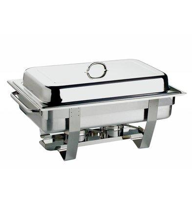 APS FSE Chafing Dish Chef   RVS   1/1GN   9 Liter   610x310mm