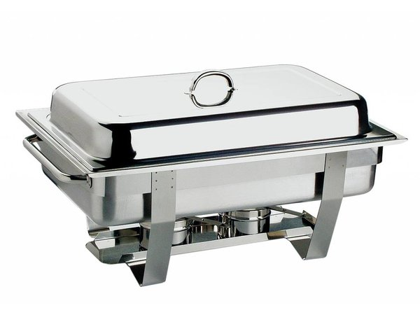 APS FSE Chafing Dish Chef | RVS | 1/1GN | 9 Liter | 610x310mm