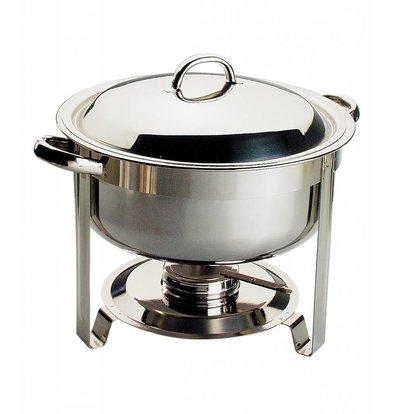APS Chafing Dish Chef | Stainless steel | 7.5 Liter | Around Ø340x (H) 340mm