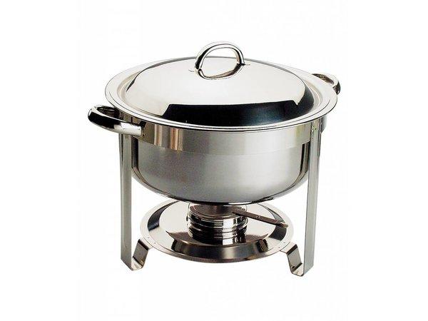 APS FSE Chafing Dish Chef | RVS | 7,5 Liter | Rond Ø340x(H)340mm