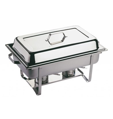 APS Chafing Dish Economic | Stainless steel | 1 / 1GN | 9 Liter | 610x360x (H) 300mm