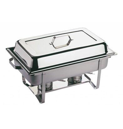 APS FSE Chafing Dish Economic   RVS   1/1GN   9 Liter   610x360x(H)300mm