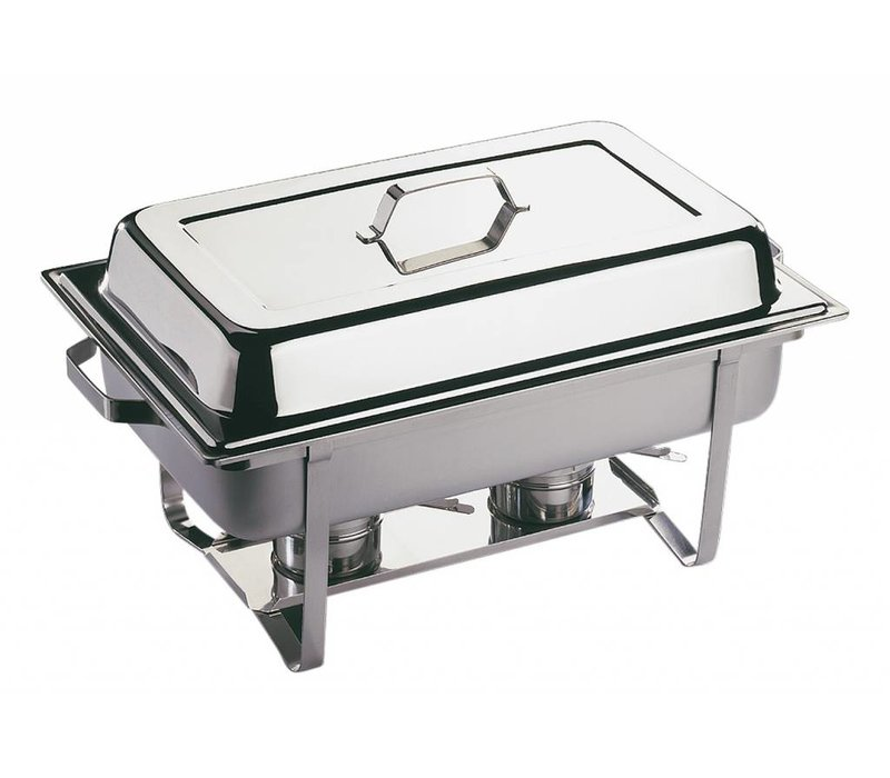 APS FSE Chafing Dish Economic | RVS | 1/1GN | 9 Liter | 610x360x(H)300mm