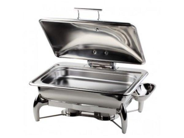 APS FSE Chafing Dish | Globe | GN 1/1 | RVS | 9 Liter | 580x440x(H)325mm
