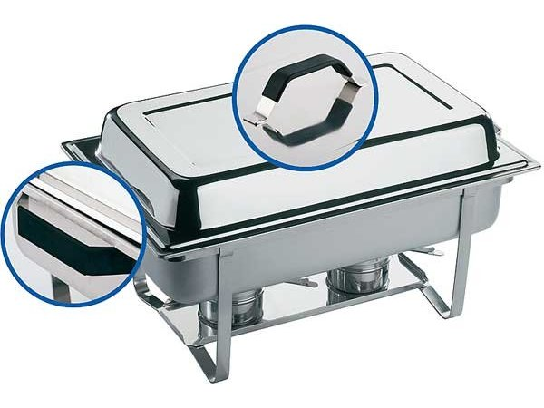 APS FSE Chafing Dish Thermo | RVS | 9 Liter | 610x360x(H)300mm