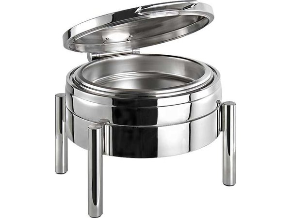 APS FSE Chafing Dish Rond   Premium   RVS   440x540x(H)330mm