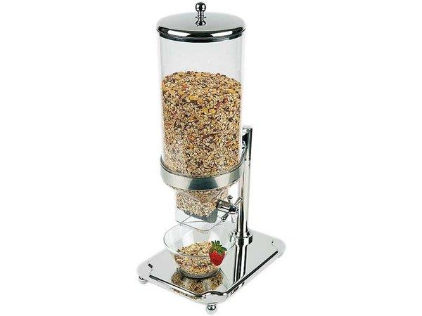 APS FSE Cereal Dispenser Classic | RVS | Inhoud 8 Liter | 350x265x(H)680mm
