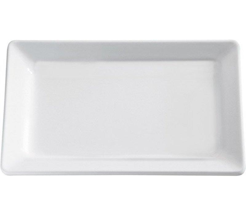 APS FSE Schaal Pure | Rechthoekig | Melamine Wit | 650x265(H)30mm