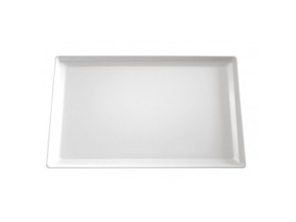 APS FSE Schaal Float | Rechthoekig | Melamine Zwart | 530x325x(H)30mm