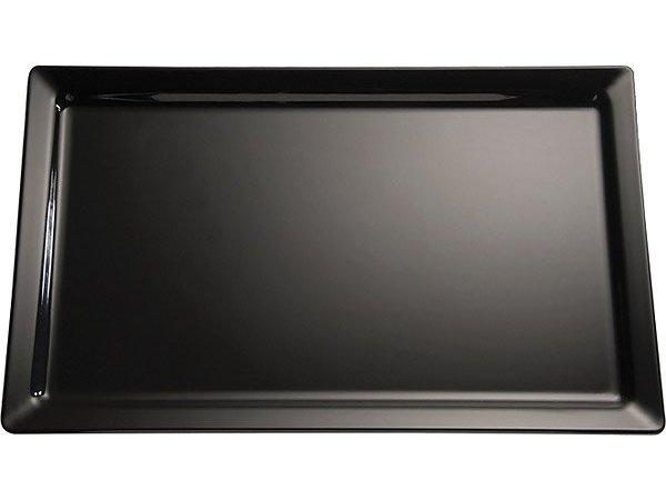 APS FSE Schaal Pure | Rechthoekig | Melamine Zwart | 400x300x(H)30mm