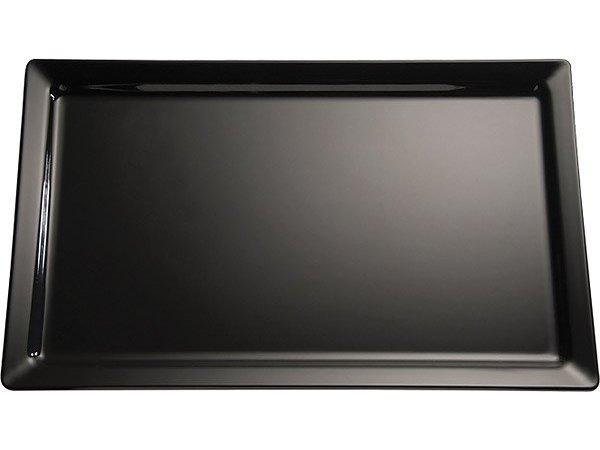 APS FSE Schaal Pure | Rechthoekig | Melamine Zwart | 600x200x(H)30mm