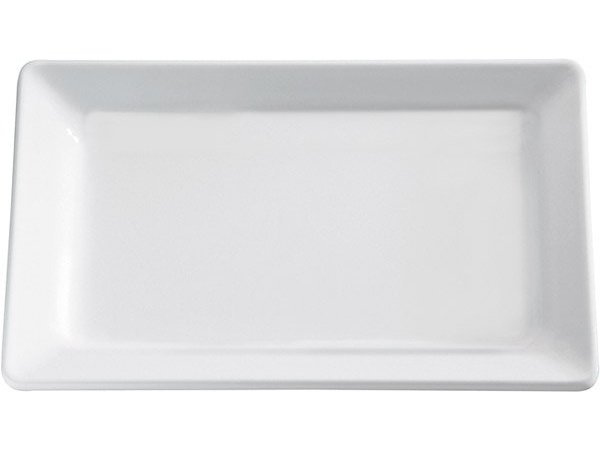 APS FSE Schaal Pure | Rechthoekig | Melamine Wit | 600x400x(H)30mm