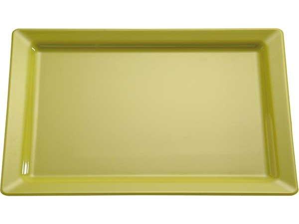 APS FSE Schaal Pure | Rechthoekig | Melamine Groen | GN 1/1 530x325x(H)30mm