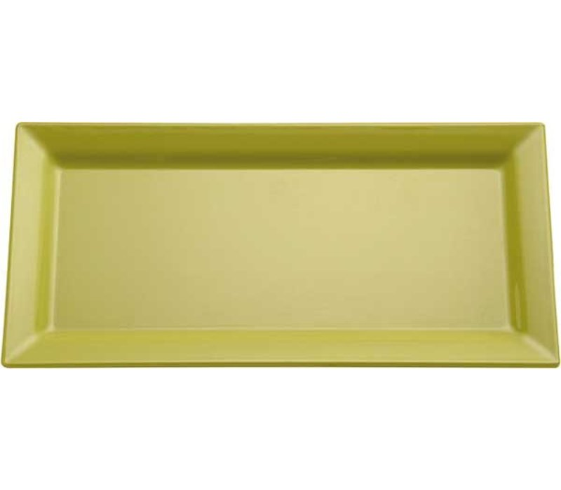 APS FSE Schaal Pure | Rechthoekig | Melamine Groen | 530x180x(H)30mm
