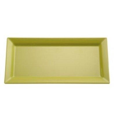 APS FSE Schaal Pure | Rechthoekig | Melamine Groen | 355x180x(H)30mm