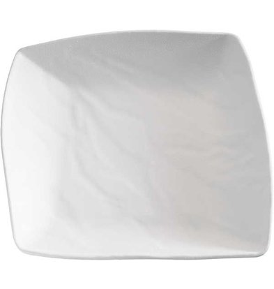 APS FSE Schaal - ZEN - Melamine Wit - Vaatwasserbestendig - ca. 230x235x(h)55 mm