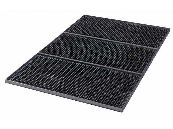 Bar Professional Barmat | Zwart Rubber | 15x30cm