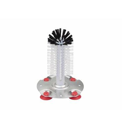 Bar Professional Spoelborstel met Zuignappen | 18 cm