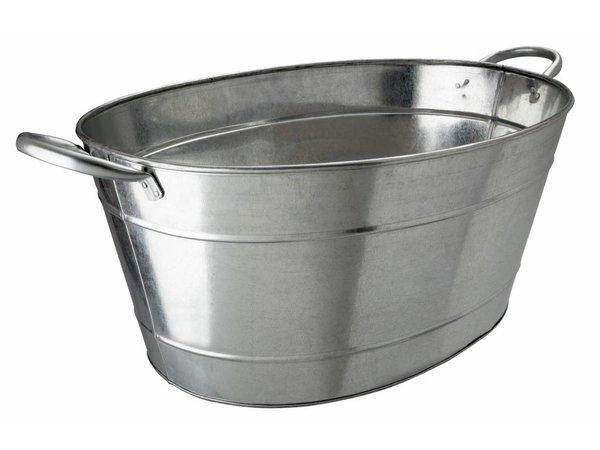 Bar Professional Bar Tub | Gegalvaniseerd | 25 liter | 49x37x22cm