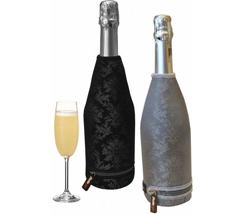 Bar Professional Champagne Thermal Cover | Grijs met barokprint