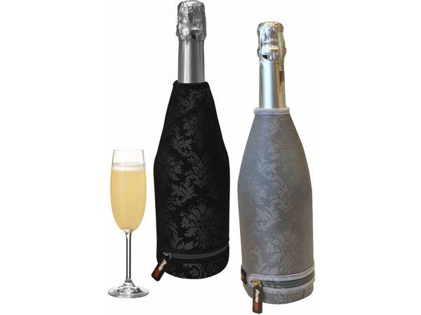 Bar Professional Champagne Thermal Cover | Zwart met barokprint