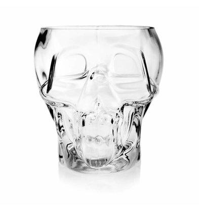 Bar Professional Glas schedel 12x14cm - 700ml