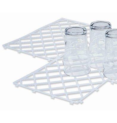 Bar Professional Schaltbare Glasmatte - 30x20cm transparent - pro 10 Stücke