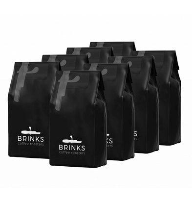 Brinks Brinks Schnellfilter Kaffeemischung | Grober Boden 8 x 1 Kg Taschen