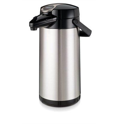 Bravilor Bonamat Bravlilor Airpot Furento | Glass Inner Pot & Stainless Steel Housing 2.2 liters Ø164x (H) 378mm