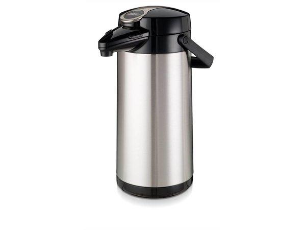 Bravilor Bonamat Airpot Furento | Rvs Binnenpot & Rvs Behuizing  | 2,2 Liter | Ø164x(H)378mm