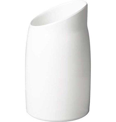 APS FSE Dressing Pot   Melamine White   Contents 1 Liter   Ø 12cm, height 21.5cm