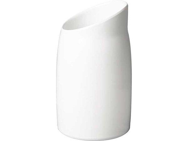 APS FSE Dressing Pot | Melamine Wit | Inhoud 1 Liter | Ø 12cm, Hoogte 21,5cm