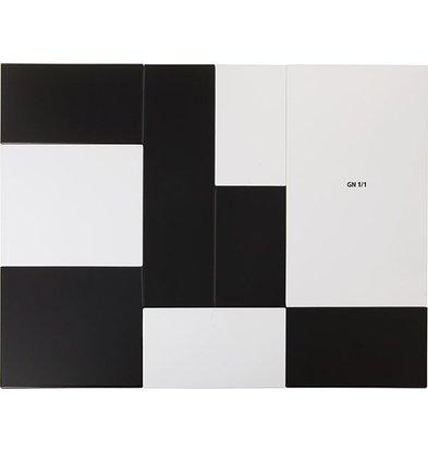 APS FSE Presentatieblad Zero | Melamine Wit | GN 1/1 | 53x32,5x(H)1,5cm