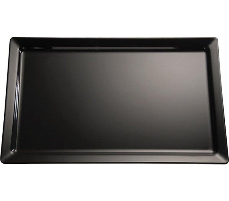 APS FSE Presentatieblad Pure | Melamine Zwart | GN 2/3 | 35,4x32,5x(H)3cm