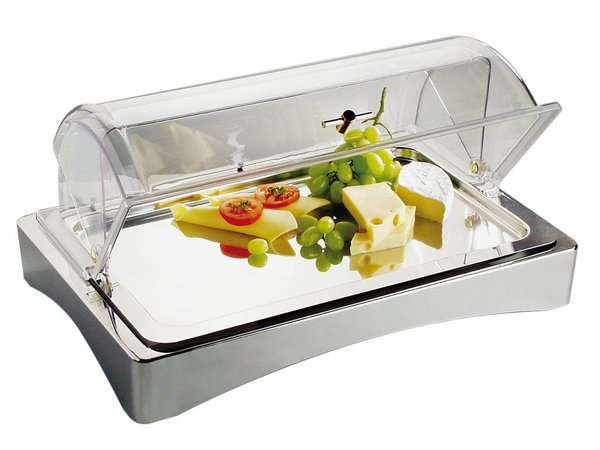 APS FSE Koelbox | GN 1/1 | 18/10 RVS | 'Top Fresh' | ca. 565x360 mm | Hoogte 85mm
