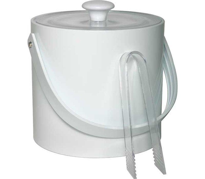 APS FSE IJsemmer Rond Wit | 3 Liter | Met tang | Ø20x(H)18cm