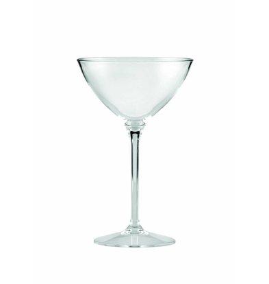 Bar Professional Cocktail Glas PC   28cl   6 stuks  Polycarbonaat