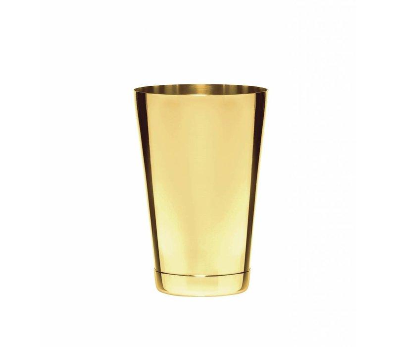 Bar Professional Boston Cocktail Shaker Set | 800 ml | Goudkleur