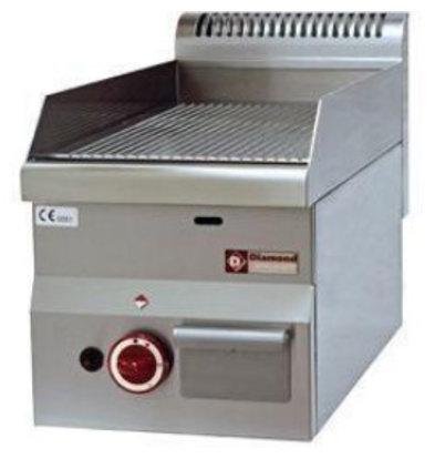 Diamond Backblech Pro 600 | Gas | Gerippt | 300x600x (H) 280/400
