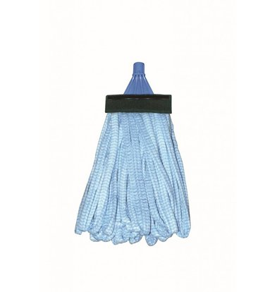 SYR Disposable Mops | Spaghetti Model with Band | With Scrubbing Strip | 150 Grams 24 Pieces Available in 4 colors