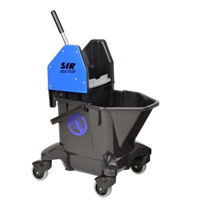 SYR Mopemmer Ebony Combo  | 20 Liter | Recycled Plastic | Zwenkwielen | Beschikbaar in 4 Kleuren