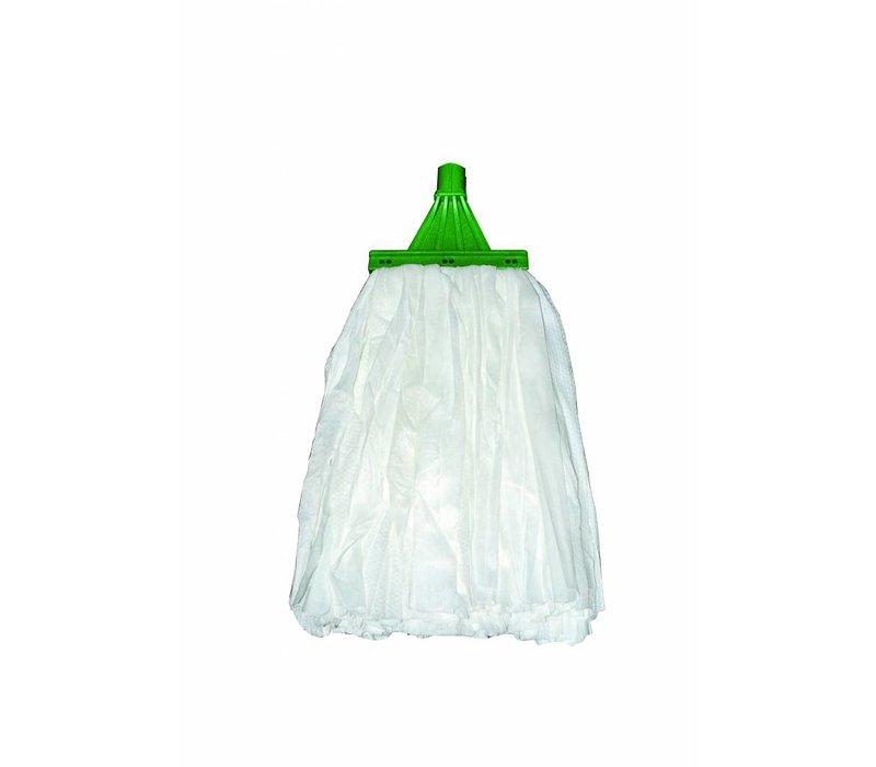 SYR Wegwerg moppen Open Uiteinde | Met Schrobstroken | 150 Gram | Beschikbaar in 4 Kleuren
