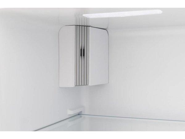 Exquisit Amerikaanse Koel-Vrieskast Wit | 291 + 138 Liter | Energieklasse A+ | 900x590x1770(h)mm