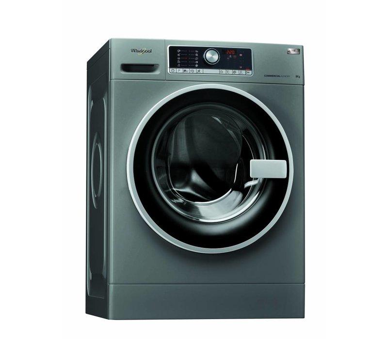 Whirlpool Wasmachine 8kg | AWG 812 S/PRO | Silver Line | 1200tpm | Werkkleding en moppen programma