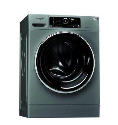 Whirlpool Wasmachine 9kg | AWG 912 S/PRO | Silver Line | 1200tpm | Werkkleding en moppen programma